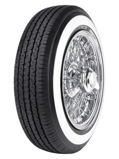 RADAR 125/80R15 Dimax Classic 68S TL White Wall (20 mm) M+S RNC0062
